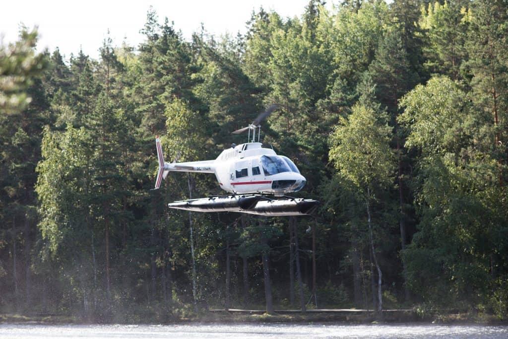 Synoptisk provtagning med helikopter 2018