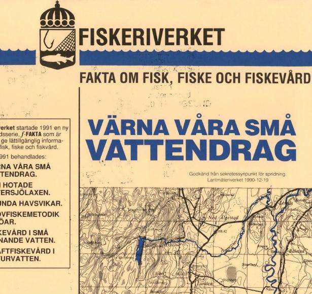 Enkät om förekomst av fisk i Huddinge 1997